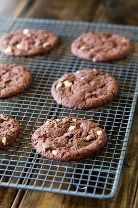 Subway cookies rezept double chocolate