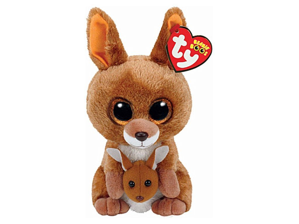 TY Kipper kangaroo beanie boo  a0c73cbd18a9