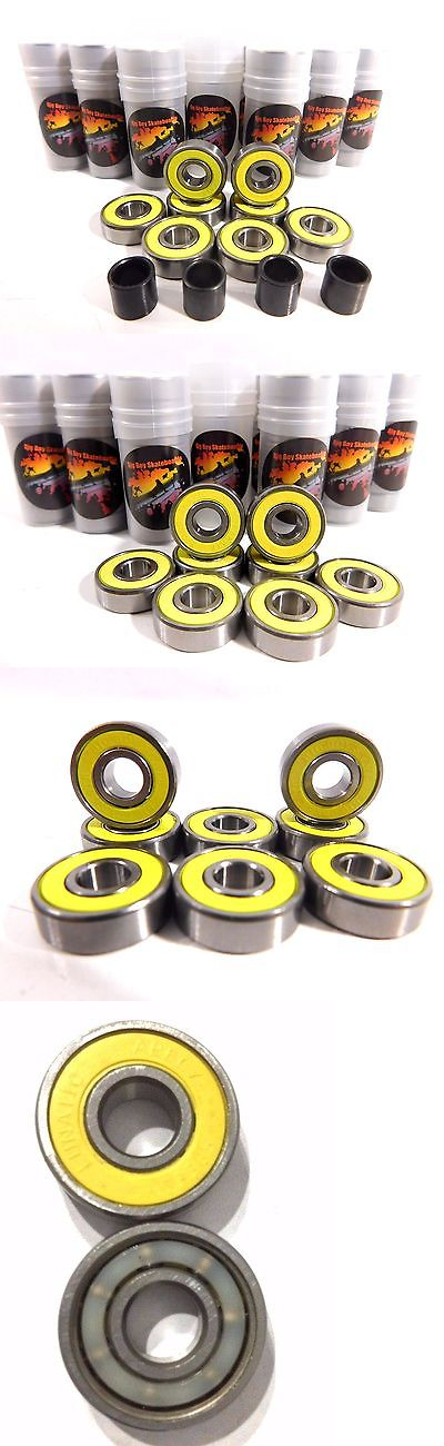 Bearings 36624: 20 Sets Big Boy Yellow Abec7 (160 Pcs) Skateboard Roller Skate Bearings 8Mm 608 BUY IT NOW ONLY: $59.99