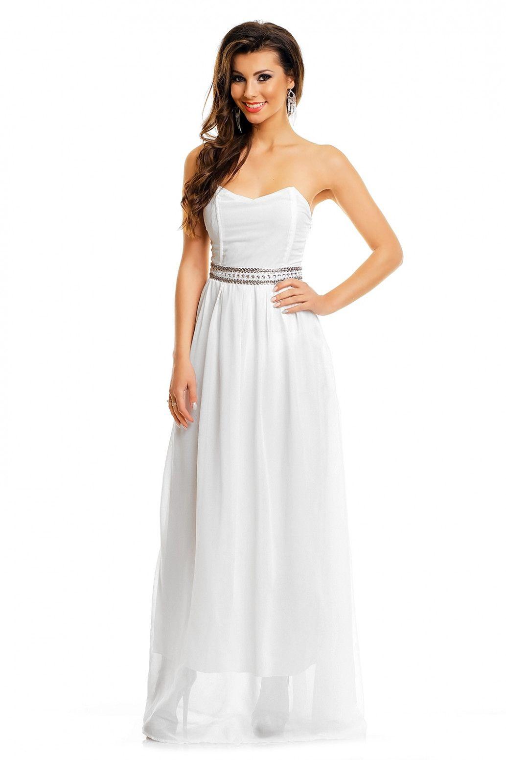 14 Abendkleider Lang In Weiss In 2020 Abendkleid Schwarz Abendkleid Abendkleid Weiss