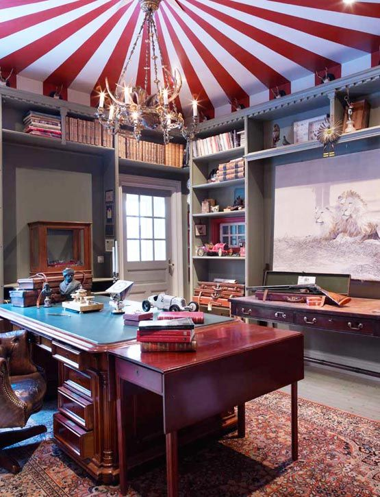 Painted Tented Ceiling With Images Tent Room Home