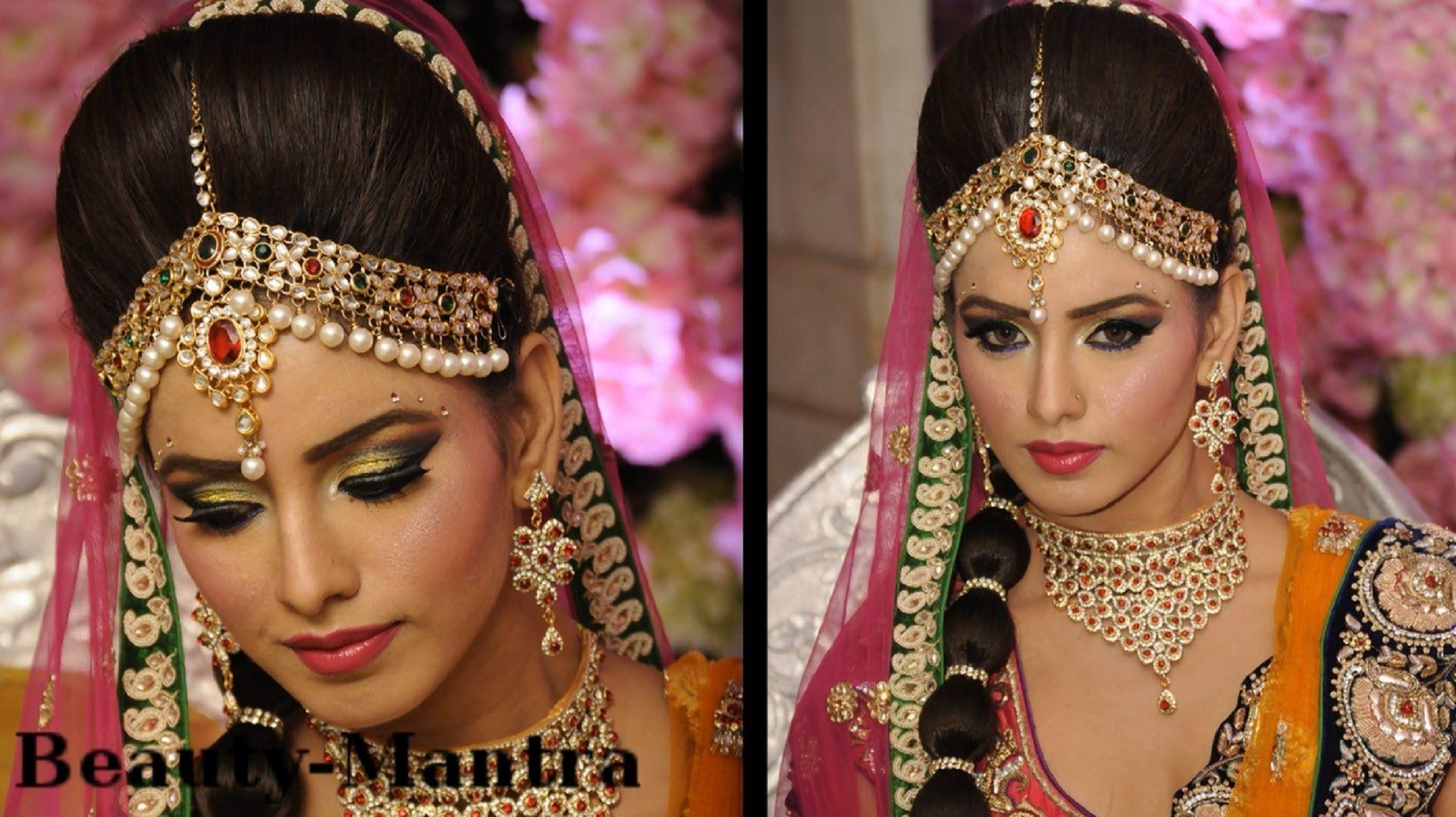 wedding makeup - amrapali bridal look - complete hair and