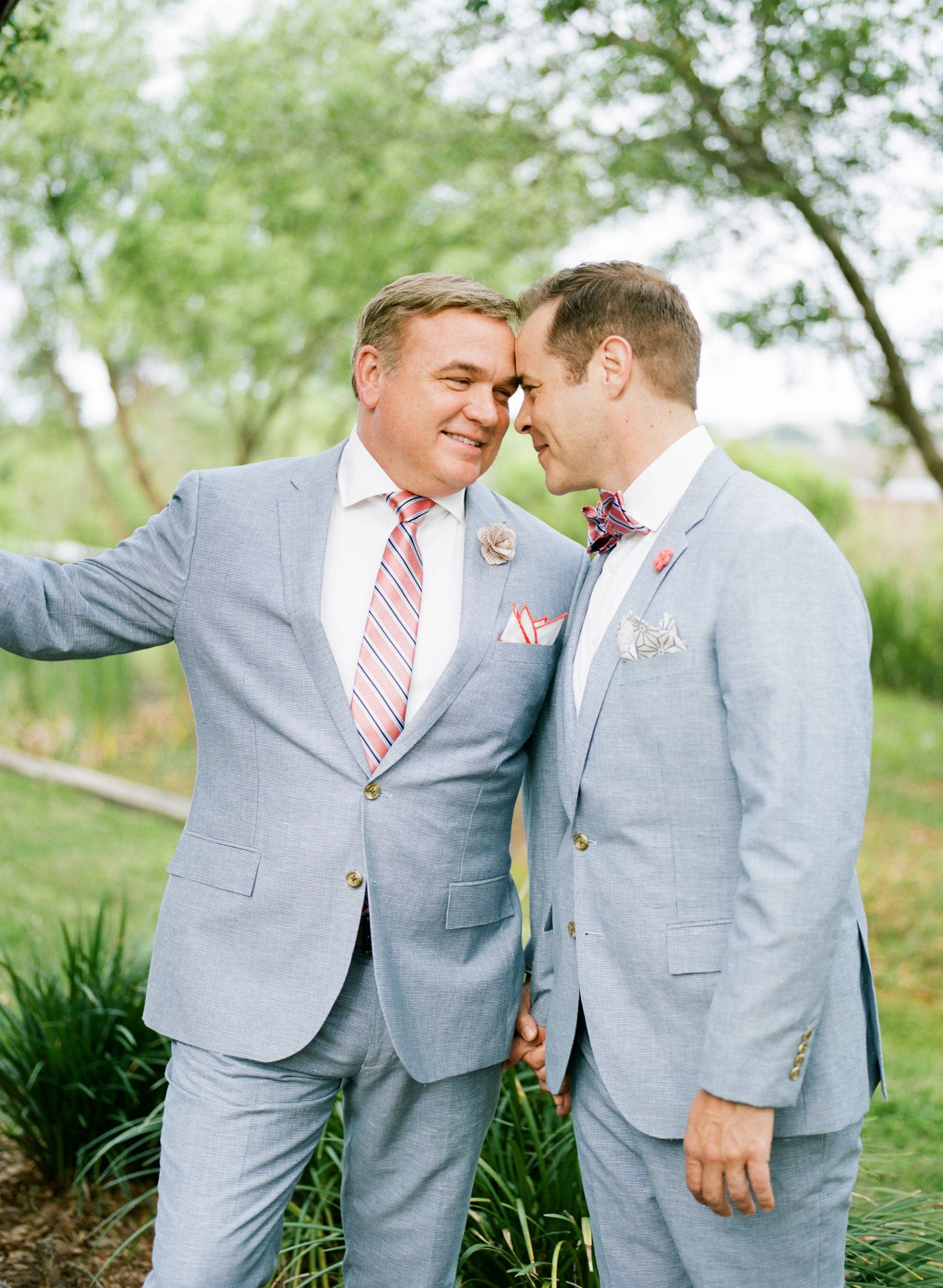 The Smarter Way to Wed | Pinterest | Blue linen suit, Grooms and ...