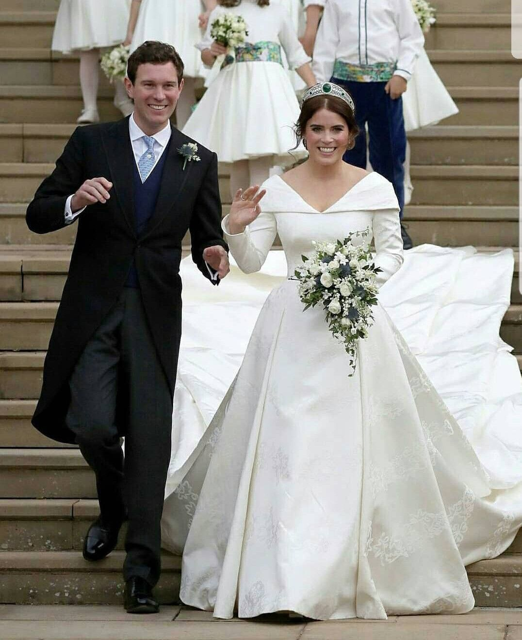 Billionaire Getty marries in Rome with his bride in an