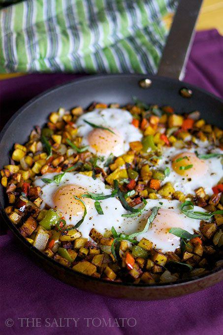 Cowboy Breakfast Hash Pan Meatless In 2019 Ovo