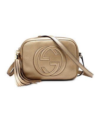 e672ee1aebc Soho Metallic Leather Disco Bag