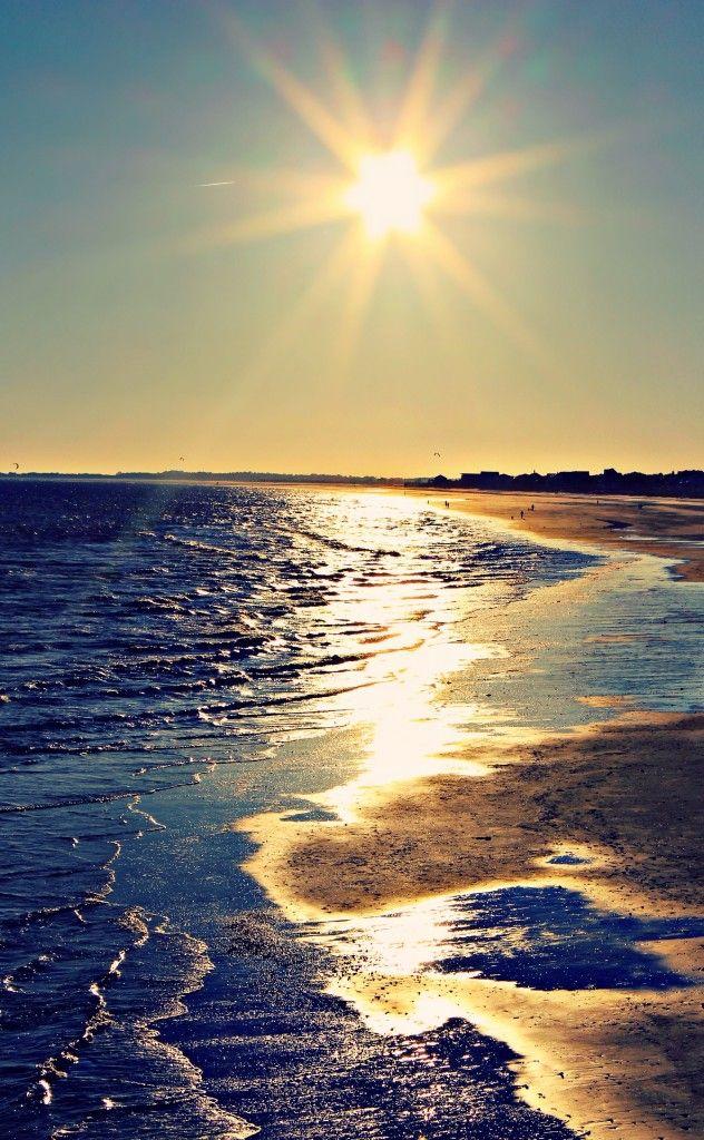 Capturing The Sunset Folly Beach Sc