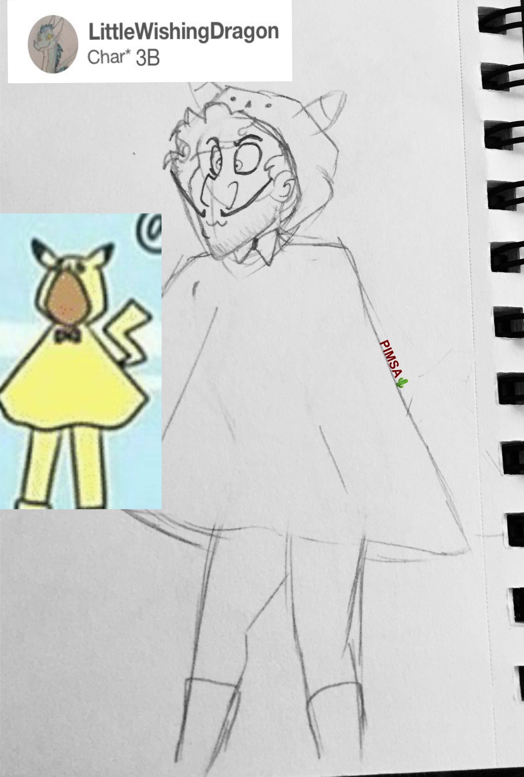 Male! Shards in Outfit B3! (Requested by