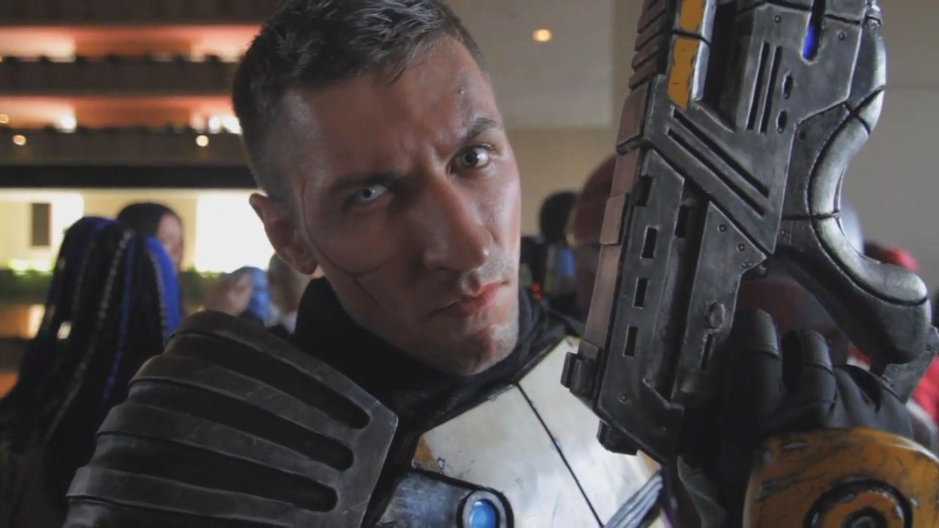 Zaeed Mass Effect Cosplay