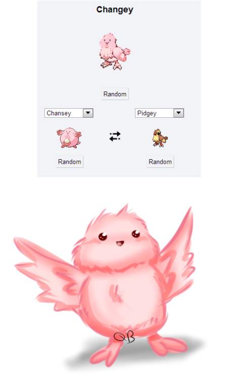 "majorra: ""Mixing Chansey with anything always seems to be a great idea. """