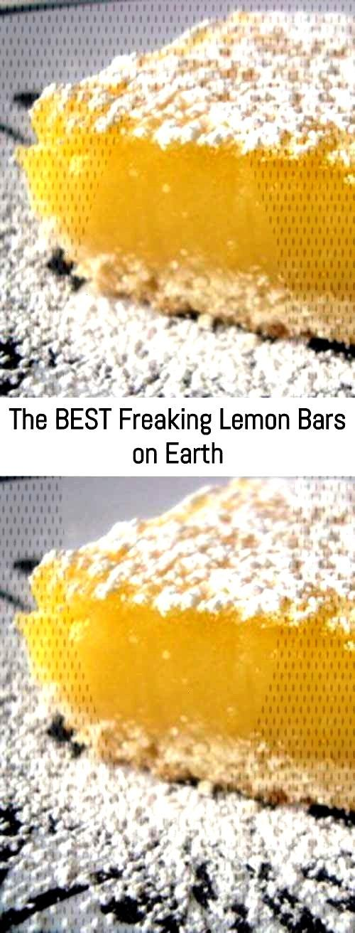 The BEST Freaking Lemon Bars on Earth – Sanji Recipe - Cookies -You can find Lemon and more on o