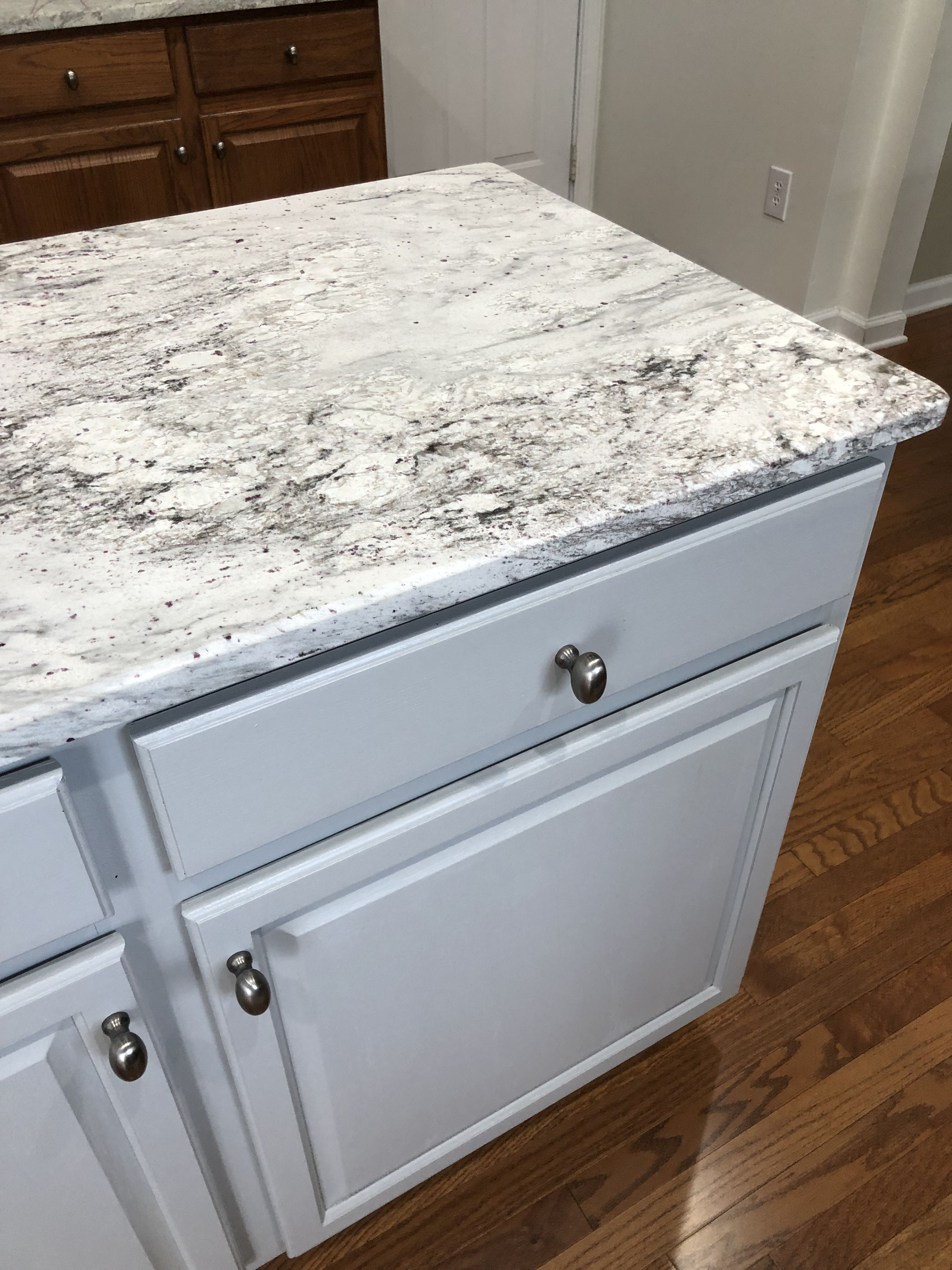 Arctic White granite countertops. #granitecountertops # ... on Farmhouse Granite Countertops  id=22752
