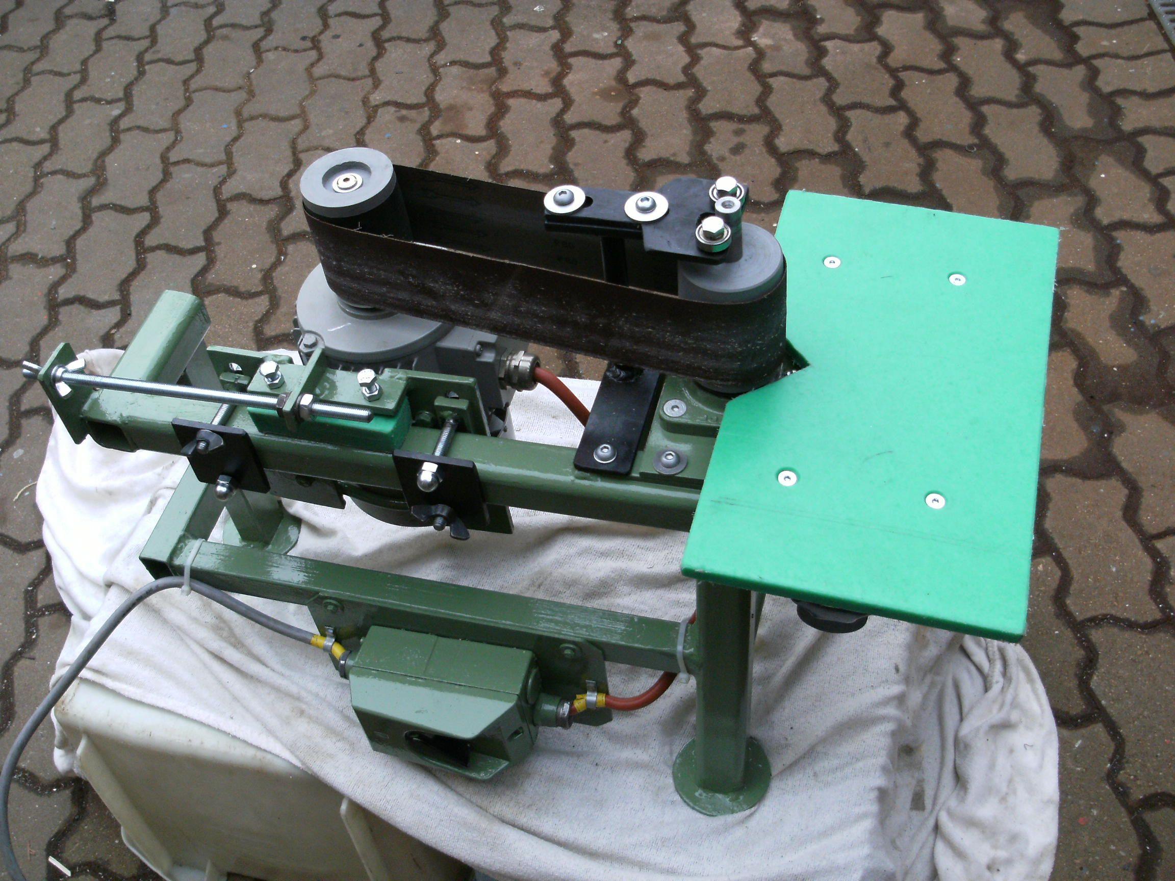 bandschleifer für rundungen bauanleitung zum selber bauen