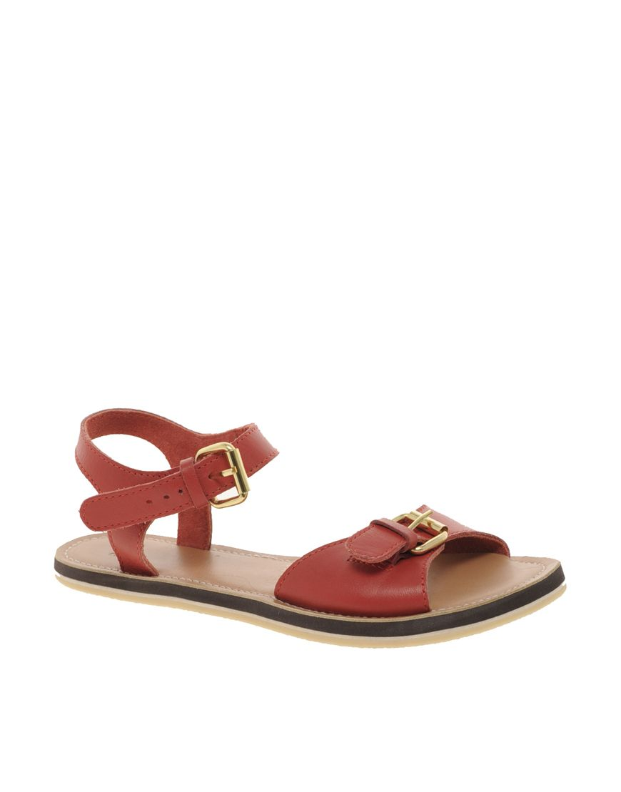 asos frank leather sandals