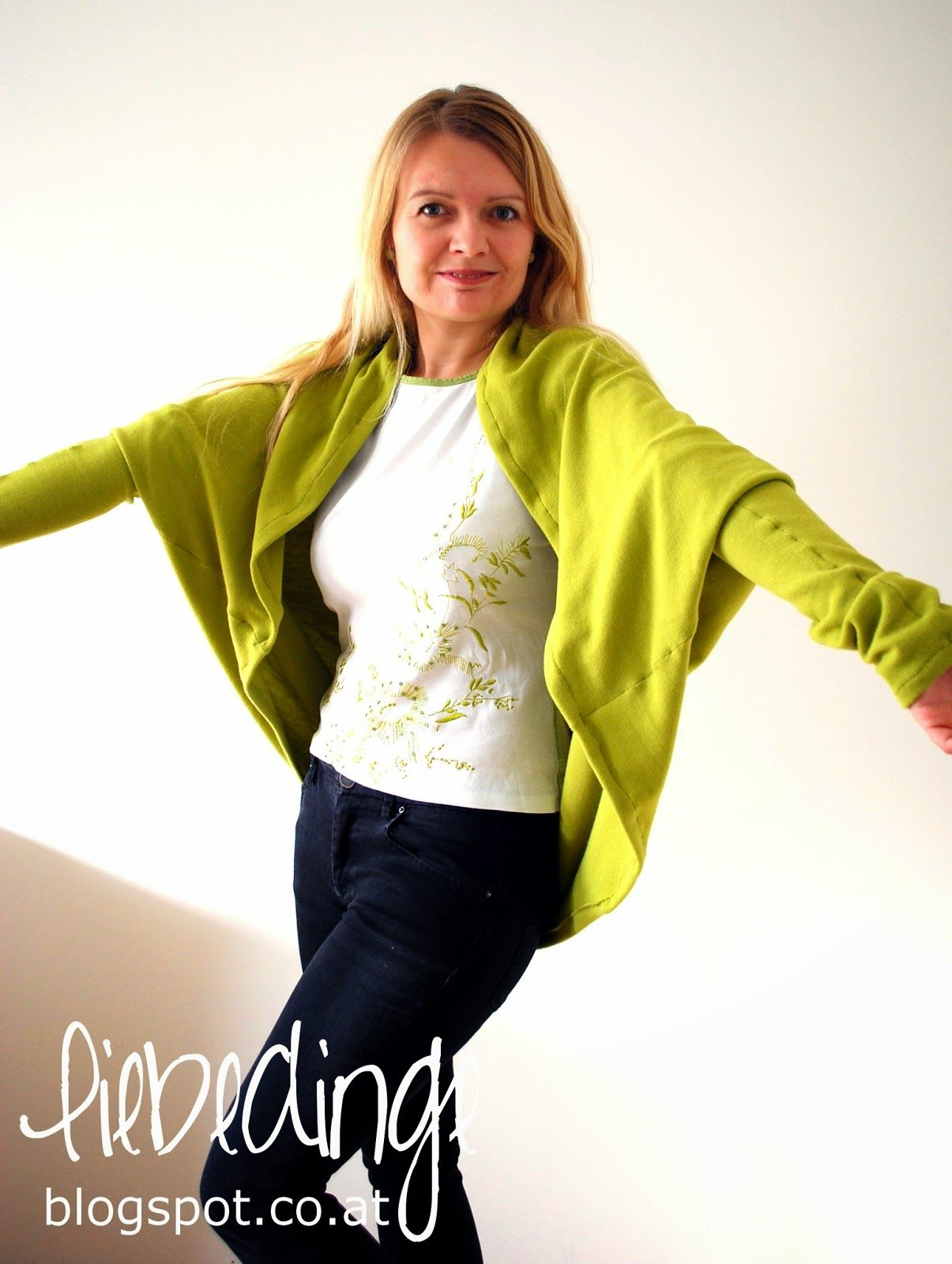 Cocoon Cardigan für Damen | DIY-Nähanleitung | Nähtalente