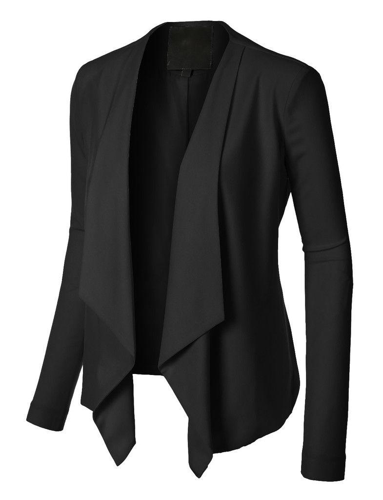 483ad5e90596e Es una chaqueta negra. Puedo vestir para una fiesta. Me gusta porque queda…