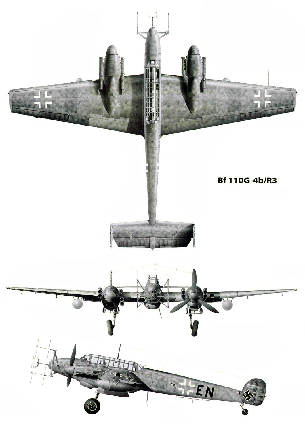 Messerschmitt Me 110 G Nachtjager