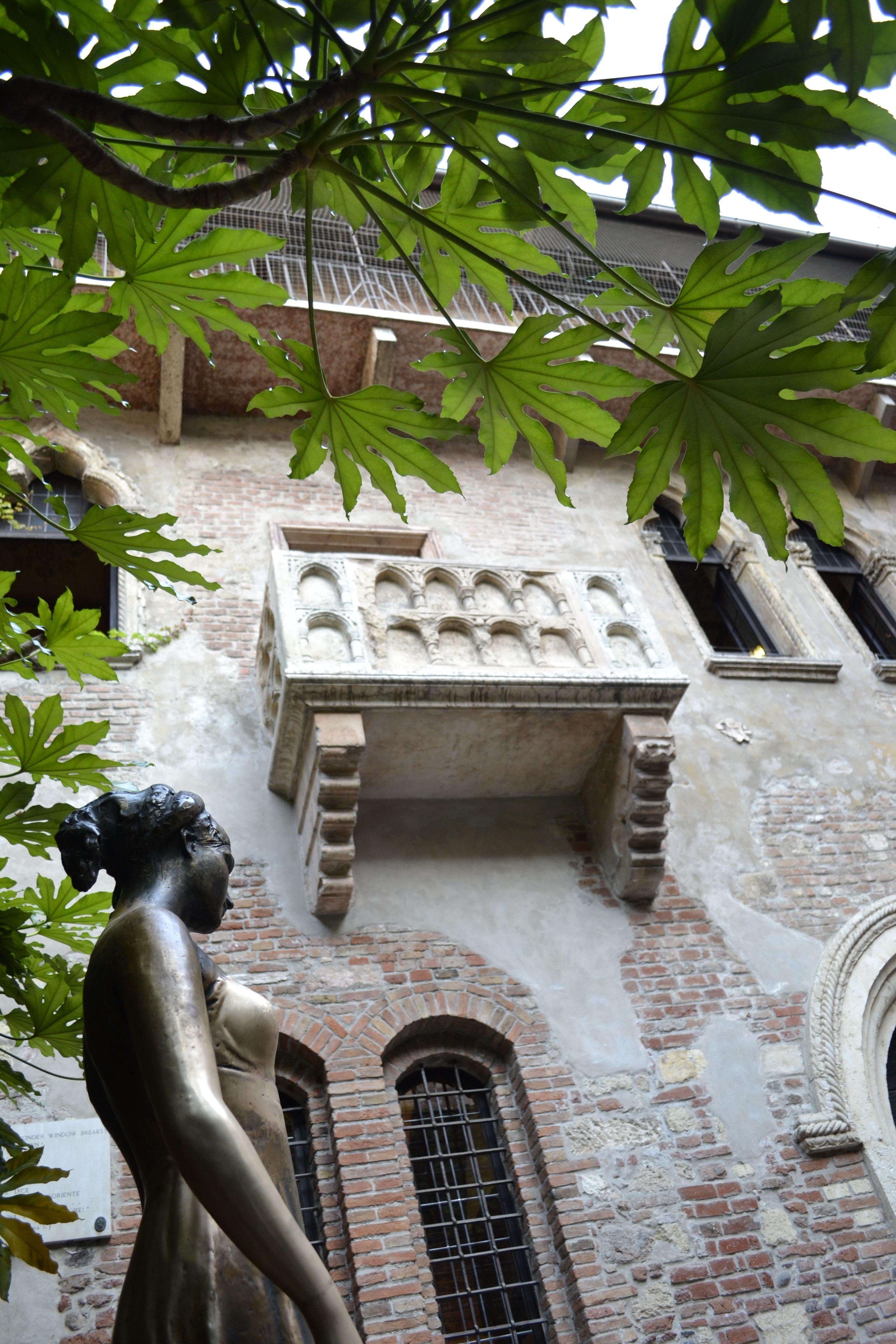 Verona Italy , Balcony of Romeo and Juliet