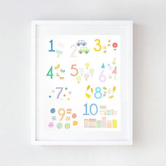 Imprimir números adorables, divertidos y atrevidos! Estas ...