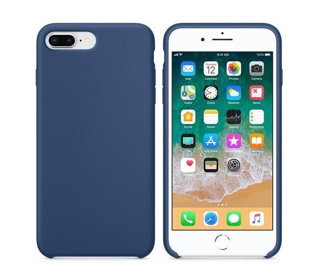 Original Have Logo For Apple Iphone 8 Plus Liquid Silicone Case For Iphone 7 6s Plus Phone Back Cover For Iphone 6 6s Fundas Para Iphone Iphone Iphone 6 Funda
