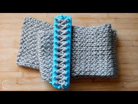 How to Loom Knit a Scarf | Easy Pattern for Beginners | The Sweetest ...