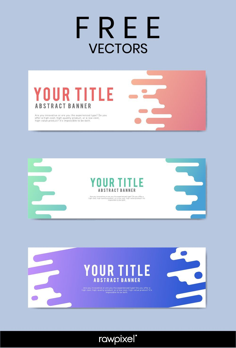 Download Free Modern Business Banner Templates At Rawpixel Inside Website Banner Templates Free Download Cumed Org Desain Banner Desain Web Brosur