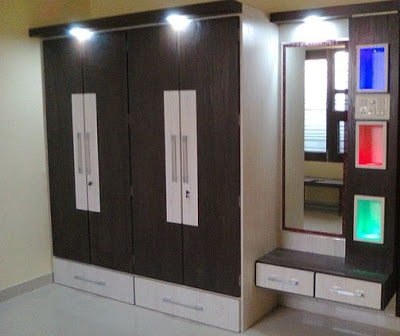 Modern Bedroom Cupboard Design Ideas Wooden Wardrobe Interior