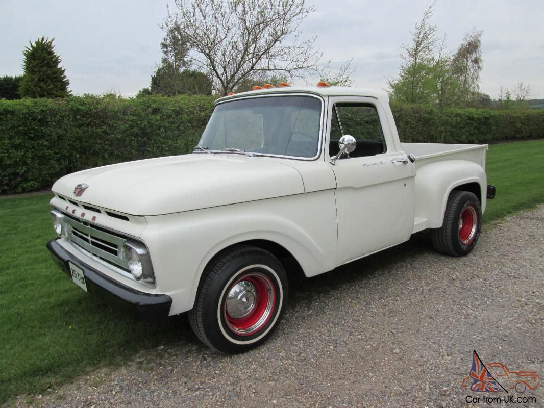 This Sale Is For A 1962 Ford F100 Custom Cab Stepside Pickup Truck Description From Car From Uk Com I Sea Pickup Trucks Classic Ford Trucks Old Pickup Trucks