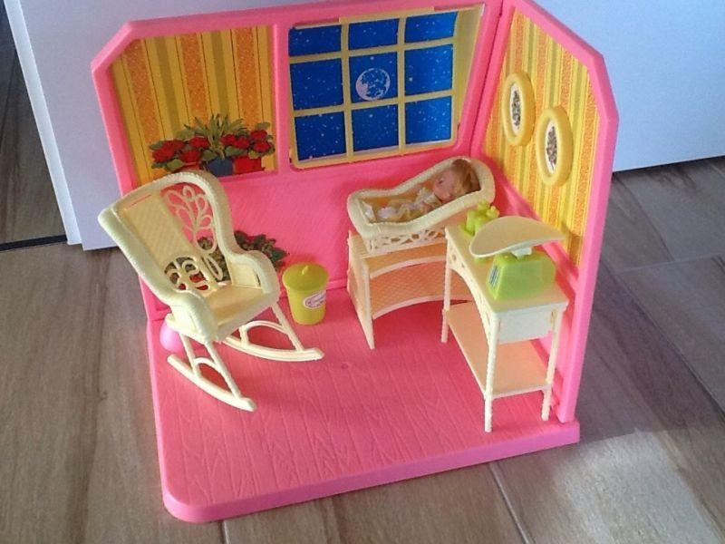 Verkaufe ein Original Mattel Barbie Kinderzimmer, das ich