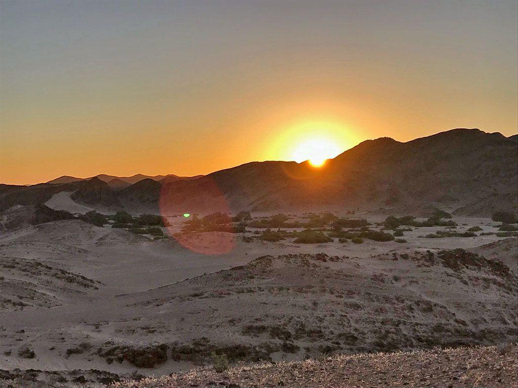 Das Hoanib Valley Camp Eine Oase Im Nordwesten Namibias Afrika