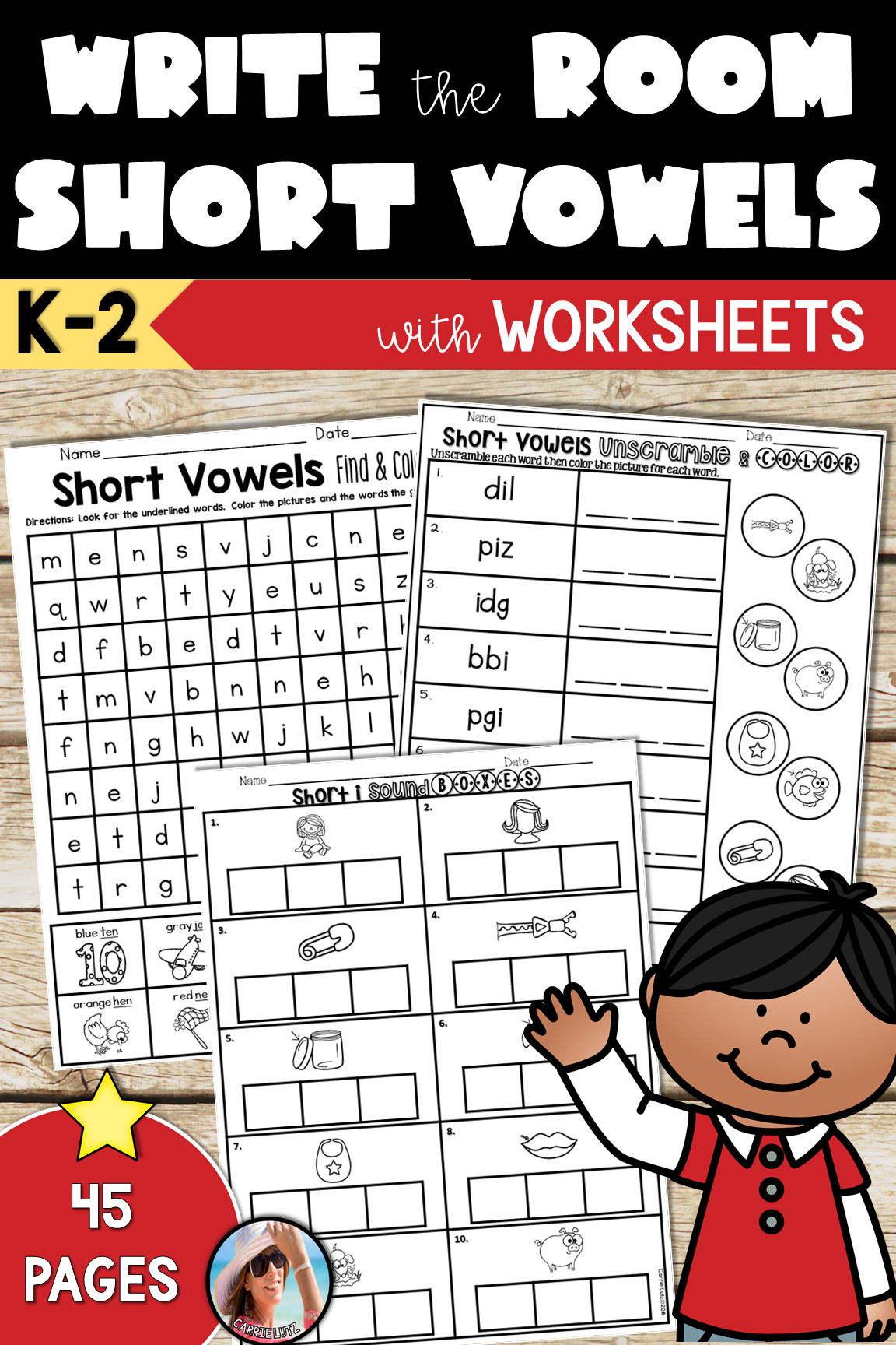 Short Vowels Write The Room Short Vowels Worksheets Short Vowels Vowel Phonics Activities [ 1728 x 1152 Pixel ]
