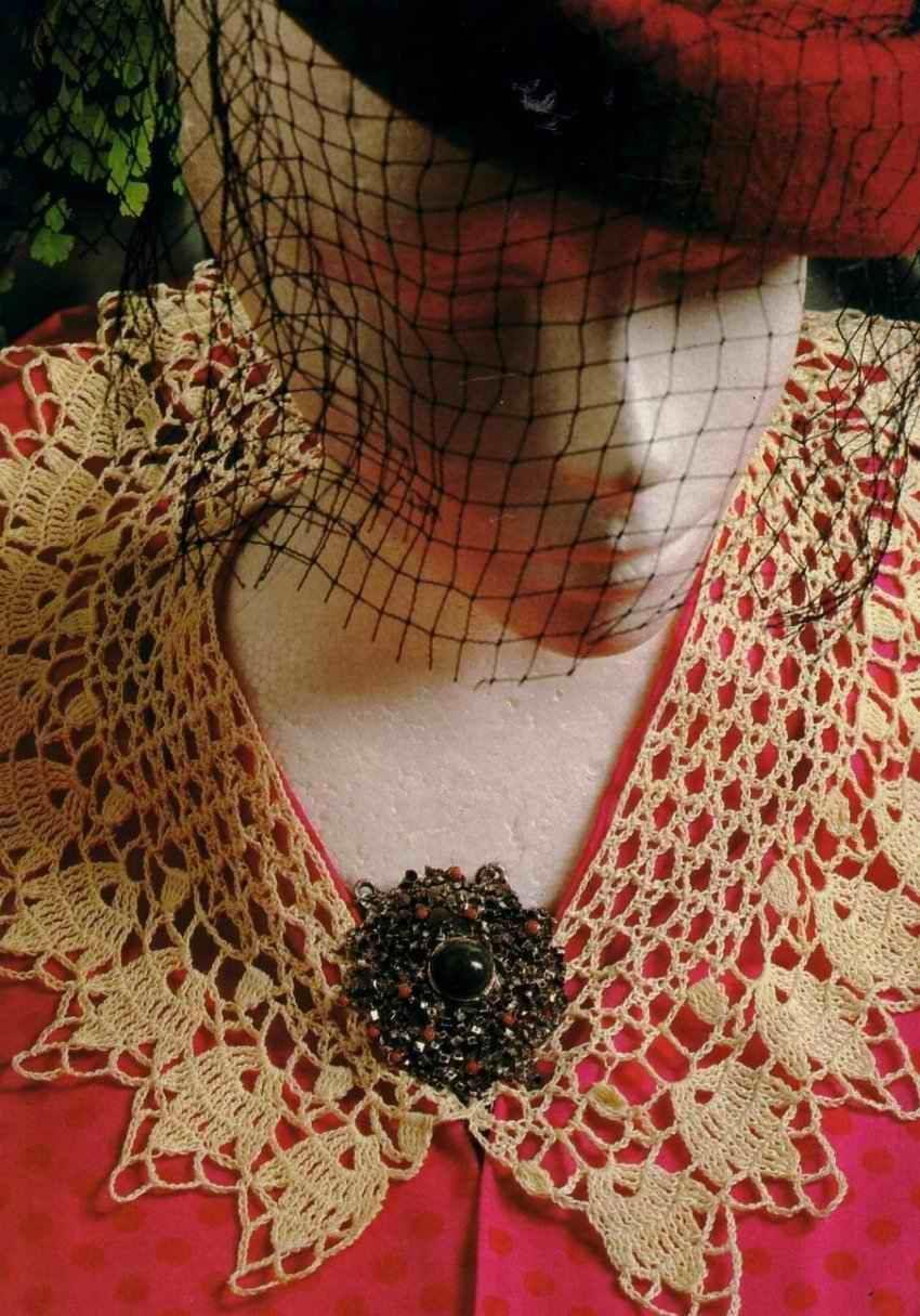 Free Crochet Patterns: Free Crochet Collar Patterns | crocheted art ...