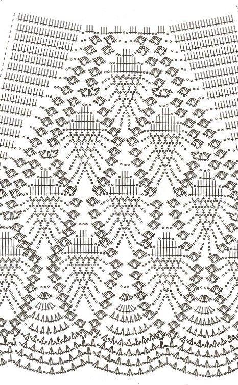 falda blanca con botas patrón 2 | Crochet | Pinterest | Botas, Falda ...