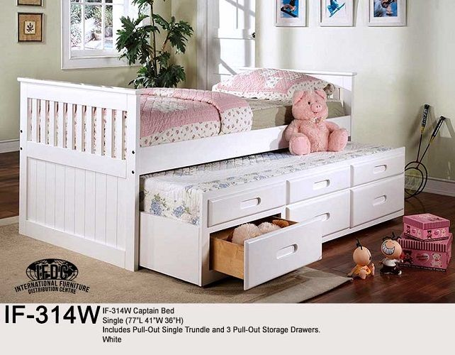 Meubles Loren A Montreal Propose Une Vaste Selection De Lits Simples Doubles Queens Et King Y Daybed With Storage Trundle Bed With Storage White Trundle Bed