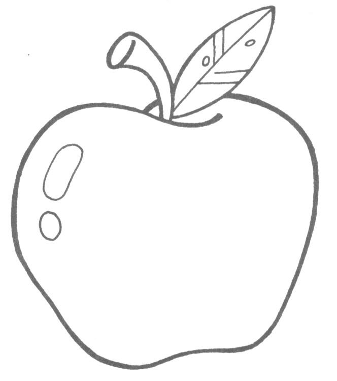 Dibujo De Una Manzana Para Colorear Buscar Con Google Manzanas Dibujo Dibujos De Frutas Uva Dibujo