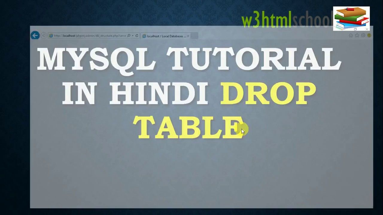 Mysql tutorial in hindi drop table mysql tutorials pinterest mysql tutorial in hindi drop table baditri Images
