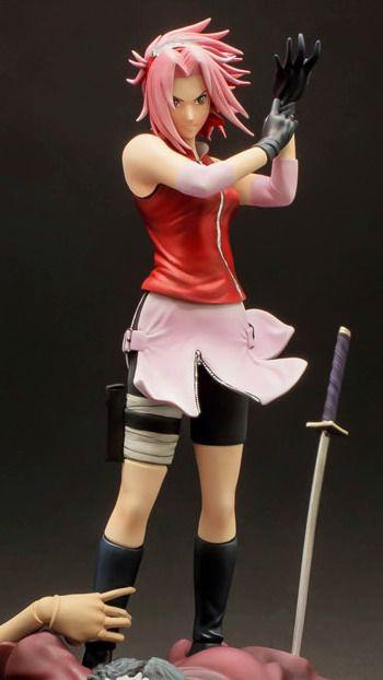 Anime Figures Naruto Haruno Sakura Undefective Bonds 1 8 Polyresin Figure By Tsume Anime Figures Naruto Anime