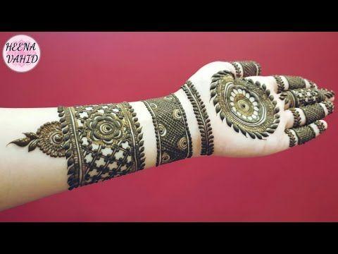 Hv Creations Of Henna Design 9 Heena Vahid Youtube Mehndi