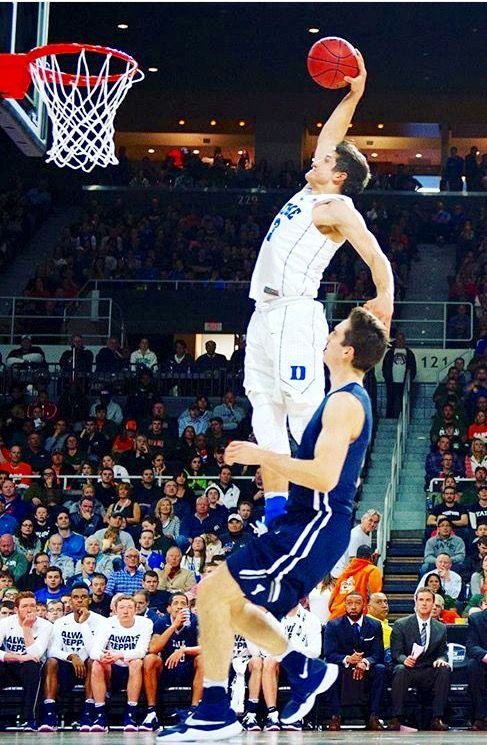 Grayson Allen Almost A 40 In Vertical So Athletic So Talented Irondevil Grayson Allen Action Sports Photography Duke Basketball