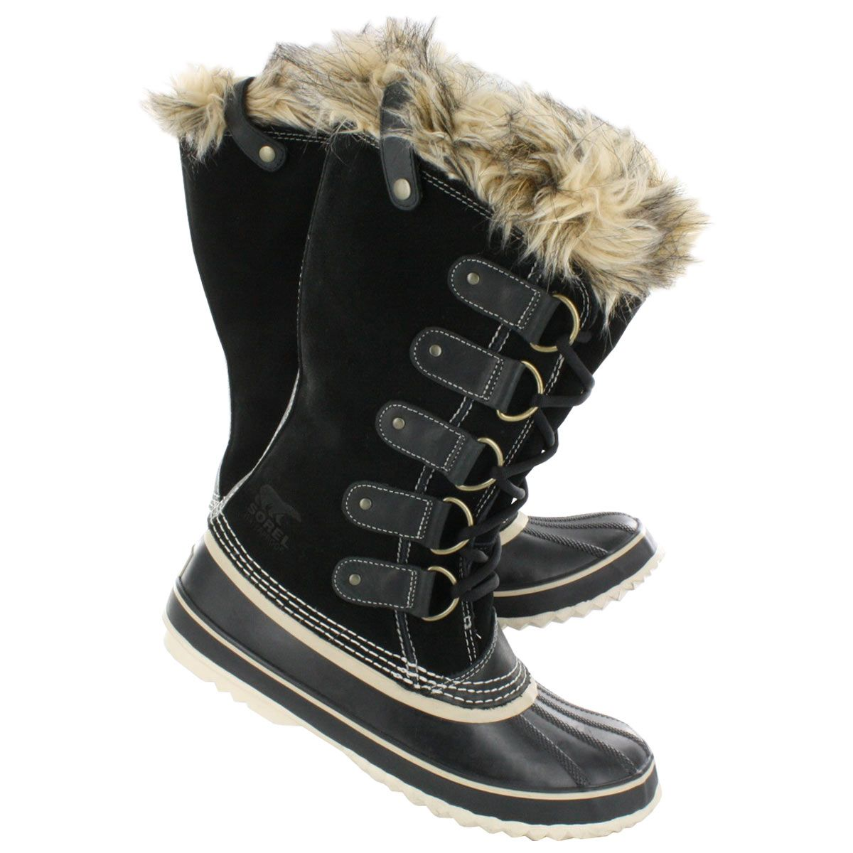 sorel s joan of arctic black winter boots nl1540 010