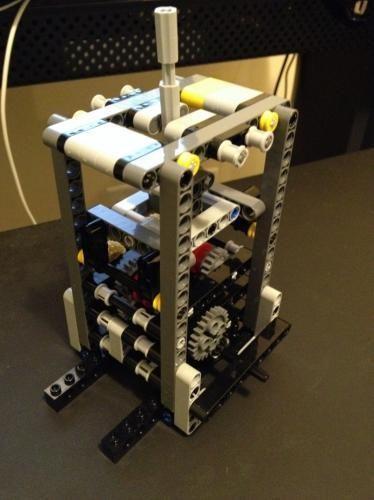 LEGO Set MOC-0916 3 Speed Transmission with Reverse   Lego technic ...