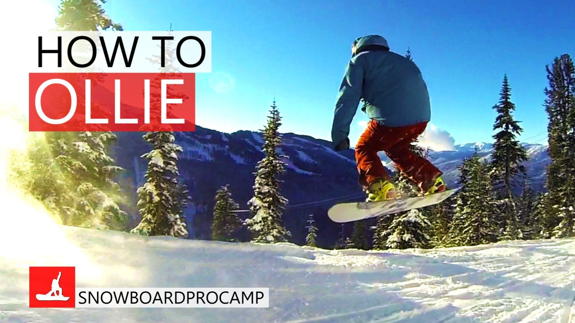 Learn How To Ollie On A Snowboard And Get Tips To Make Ollies Super Easy To
