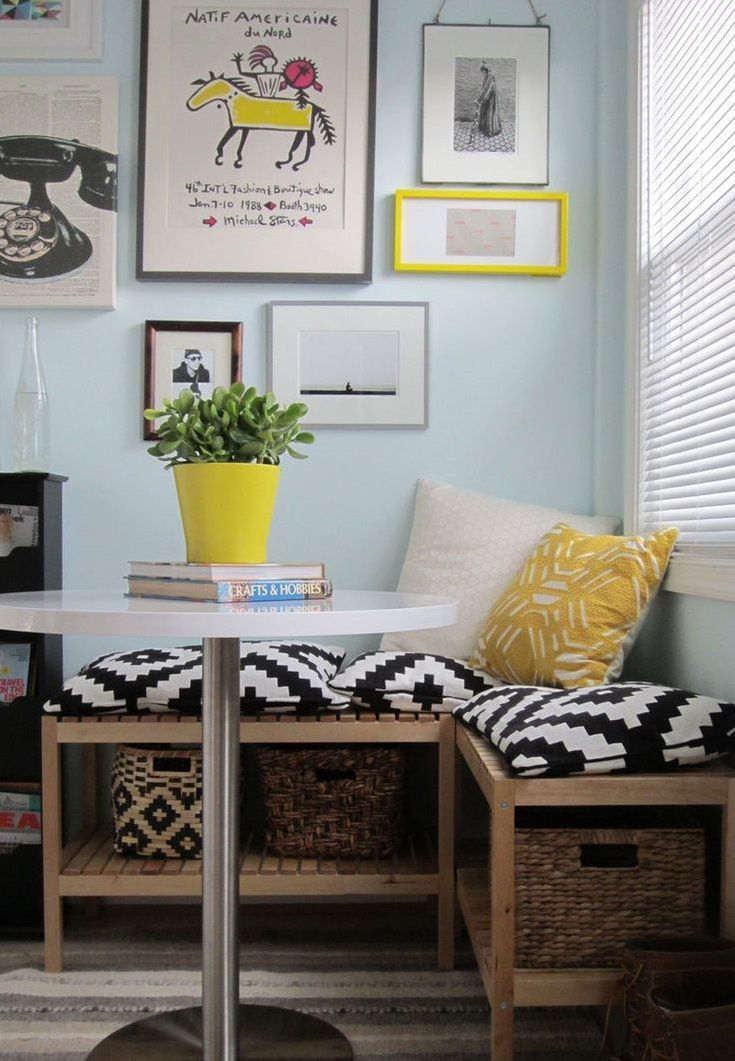 5 ways to create small space dining areas space saving dining rh pinterest com