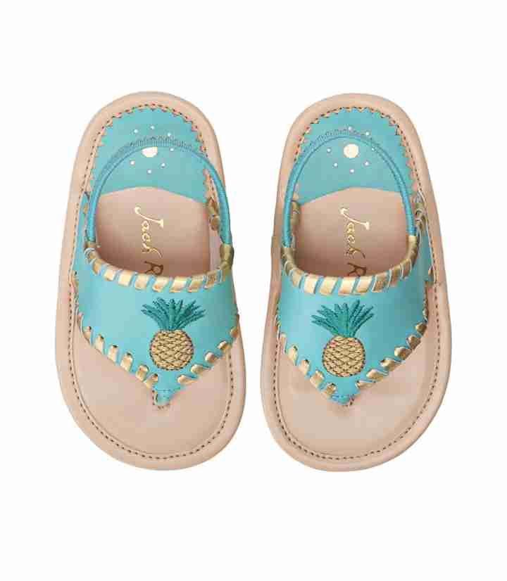 Baby Pineapple Sandal   Baby girl shoes