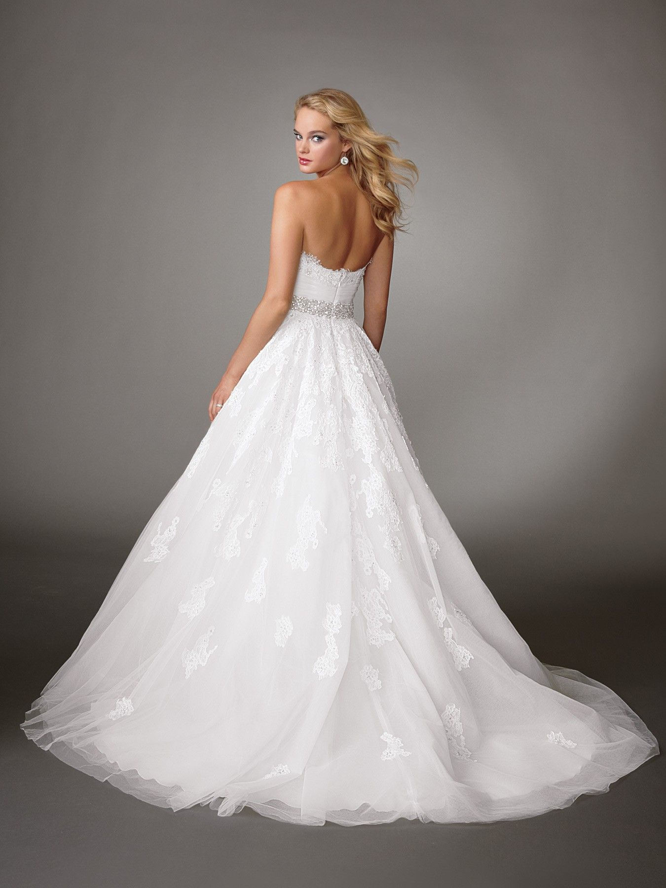 Most expensive wedding dress in the world  Jordan Fashions M back  The most expensive dress you will ever