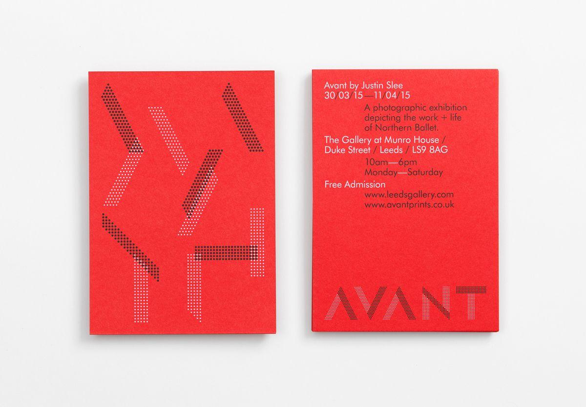 Avant Leaflet design, Logo branding identity, Identity logo