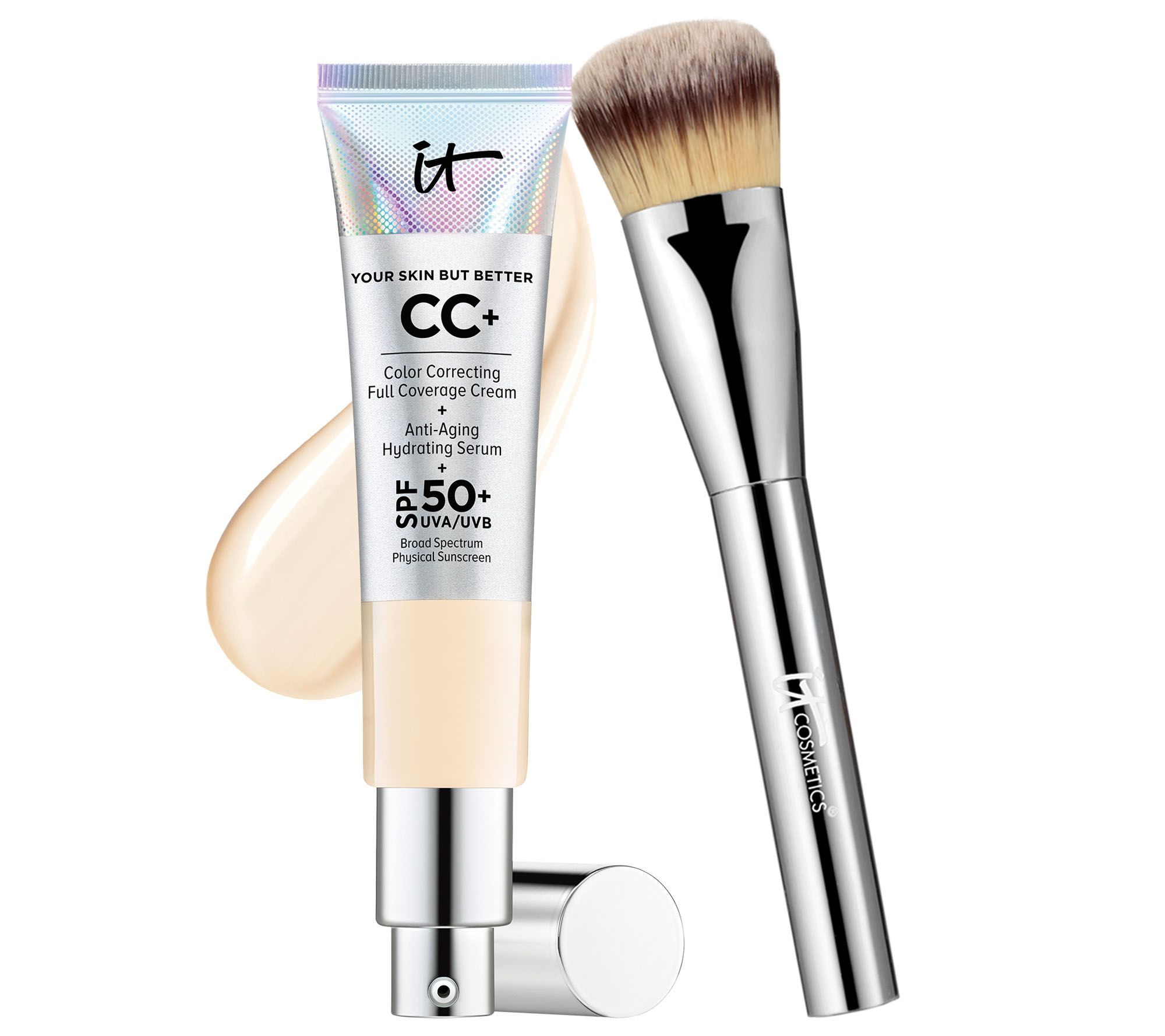 IT Cosmetics Full Coverage Physical SPF 50 CC Cream with