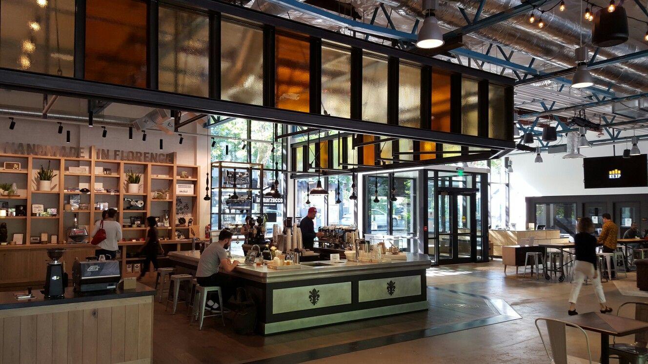 La Marzocco Cafe at KEXP studio, Seattle, WA La marzocco