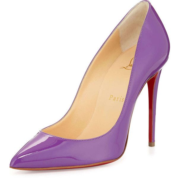 8c09182184d Christian Louboutin Pigalle Follies Red Sole Pump (915 CAD) ❤ liked ...