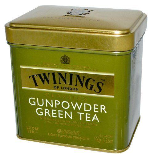 Twinings Gunpowder Green Tea- 3.53 oz. Loose Tea Tin by Twinings, http://www.amazon.com/dp/B000BXZ4MK/ref=cm_sw_r_pi_dp_TXFlrb0S5FG4T
